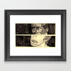 panels Framed Art Print