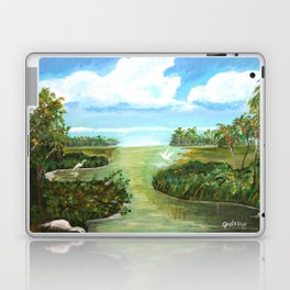 Marsh Birds Laptop & iPad Skin