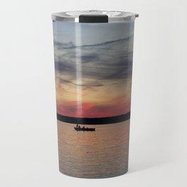 Thousand Islands Sunset Travel Mug