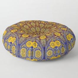 Vintage Morrocan Tile Floor Pillow