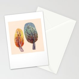 Whimsy Trees Stationery Cards