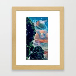 Head-Space Framed Art Print