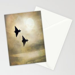 Euro Fighters Stationery Cards