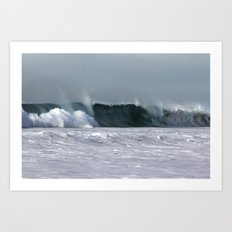 Fast as a Wave Art Print