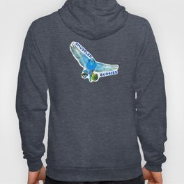Smuggled Budgies Football Hoody