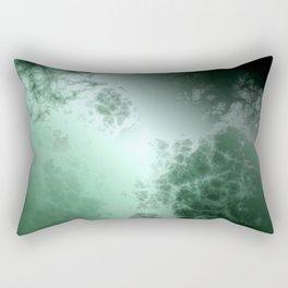 Green galaxy Rectangular Pillow