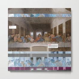 The Last Supper _review Metal Print