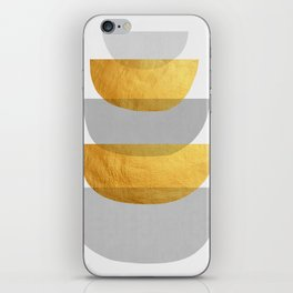 Abstract Golden Art XX iPhone Skin