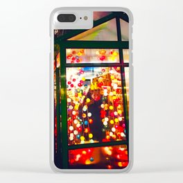 Winter Market Clear iPhone Case