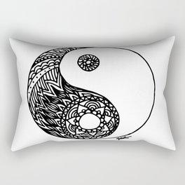 Tangled Yin Yang Rectangular Pillow