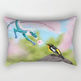 Dragon Friend  Rectangular Pillow