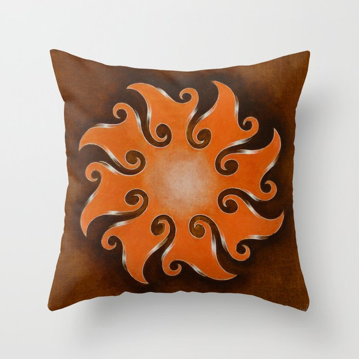 Points Of Infinity Throw Pillow