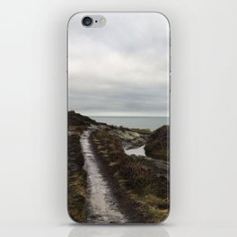 Anglesey - The beaten track iPhone Skin
