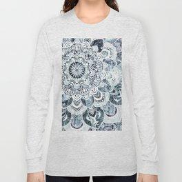 MOON SMILE MANDALA Long Sleeve T-shirt