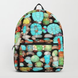 Abstract Gemstones Backpack