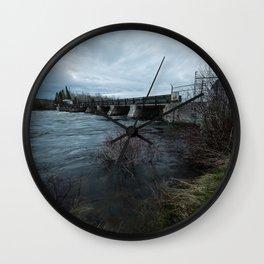 Latchford #1 Wall Clock