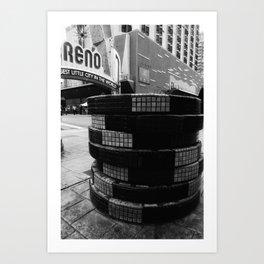 Biggest little city Art Print