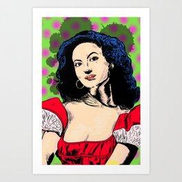 Maria Felix (María de los Ángeles Félix Güereña) Art Print