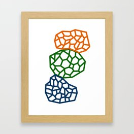 Biomorphic Framed Art Print