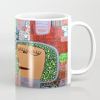 mars Mugs featuring Mars by luisyiyo