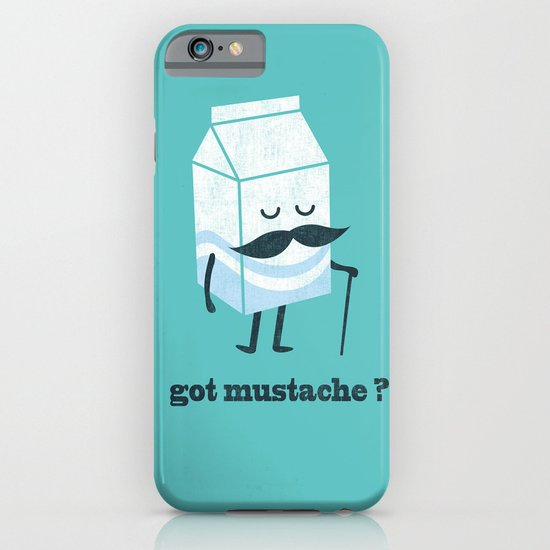 Got mustache? iPhone & iPod Case