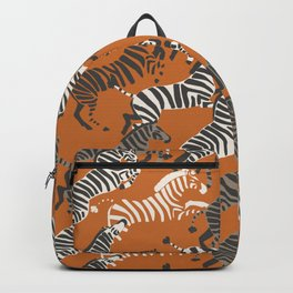 Zebra Race Backpack