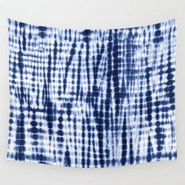 Shibori Tie Dye Pattern Wall Tapestry