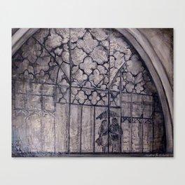 rouleau de rick Canvas Print