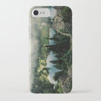 lake iPhone & iPod Cases featuring Rainier Eunice Lake by Kevin Russ