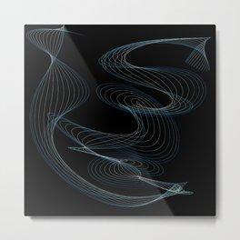 Kinetic Oscillation 1 Metal Print
