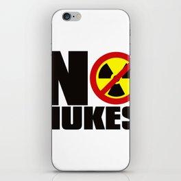 NO_NUKES iPhone Skin