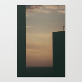 City Geometry Canvas Print