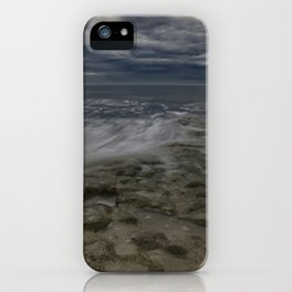 Storm Drama at Swami's Reef. iPhone Case