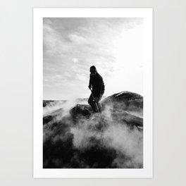 Charcoal-burners Art Print