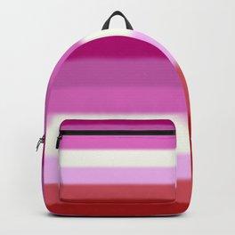 Lesbian Pride Flag Backpack