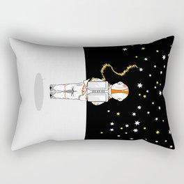 Astronaut Caught Short Rectangular Pillow