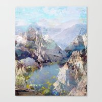 tchmo Canvas Prints featuring Untitled 20120323f (Landscape) by tchmo