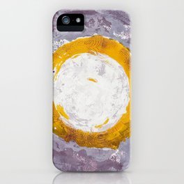 Enso Of Daisies iPhone Case