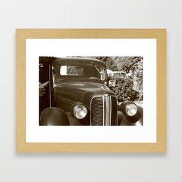 the past #1 Framed Art Print