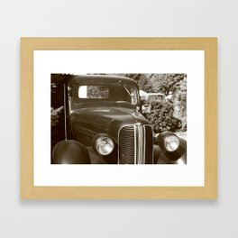 the past #1 Framed Art Print