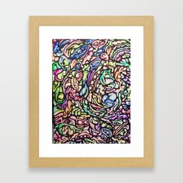 ColorSync Framed Art Print
