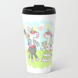 Unicorn Flamenco Travel Mug