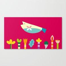 The Fish's Dream Canvas Print