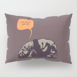Hippopotamus Pillow Sham