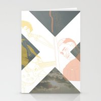 the xx Stationery Cards featuring XX by Itxaso Beistegui Illustrations