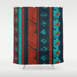 3D Ethic BG Shower Curtain
