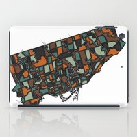 toronto iPad Cases featuring Toronto by BigRedSharks