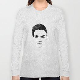 Ruby Rose Long Sleeve T-shirt