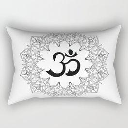 Om Rectangular Pillow
