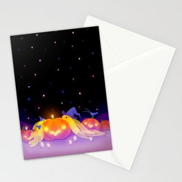 Halloween pleco Stationery Cards